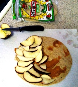 Apple & Peeb Quesadilla